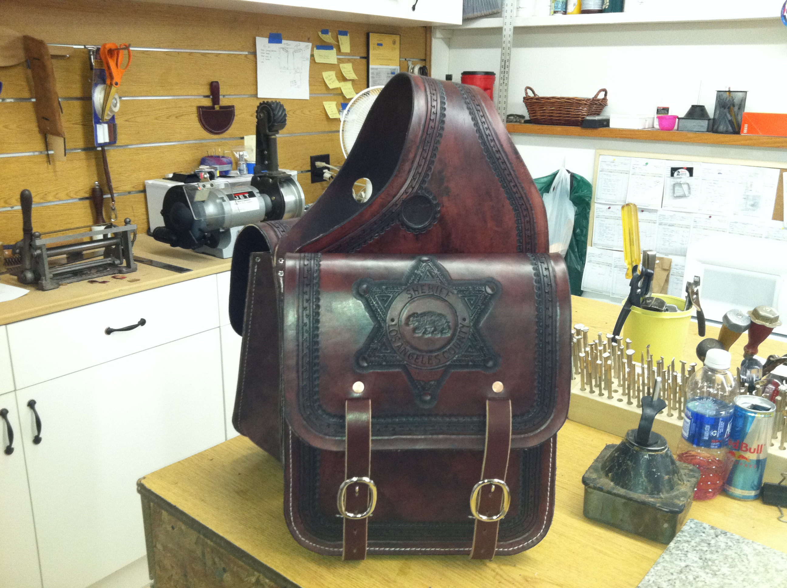 Custom Saddle bags