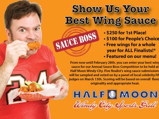 Fourth Annual Sauce Boss Returns to Half Moon Windy City!