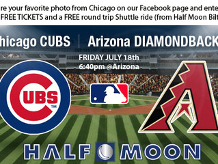 Win 2 Free Tickets to see the Diamondbacks vs Cubs in the Windy City Photo Contest