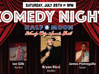 Comedy Night Returns to Half Moon Windy City with Brian Ricci