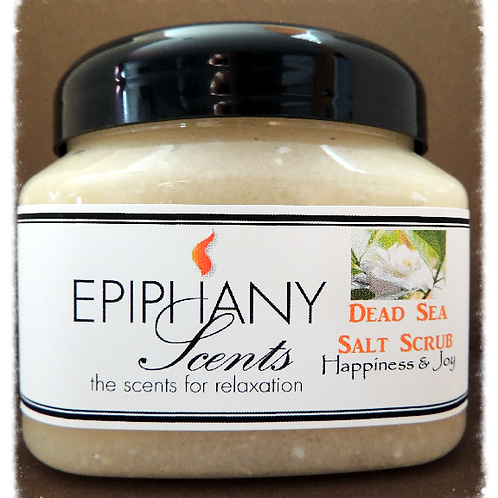 Shea Dead Sea Salt Scrub - Happiness & Joy