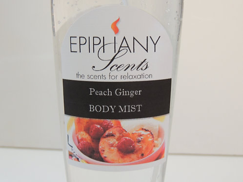 Moisture Rich Body Mist - Peach Ginger