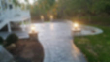 Haijoe stamped concrete patio Northern V