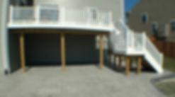 trex deck, composite wood deck, deck with steps, railing, vinyl railing, deck builde, woodbridge, deck contractor, Gainesville, Nokesville, Bristow, Aldie, Stafford, patio contractor, dmv contractor, Haymarket deck builder, Haymarket deck contractor
