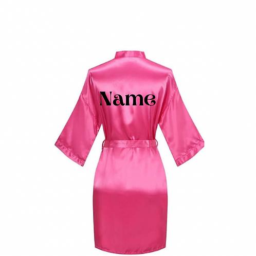 Customized Robe