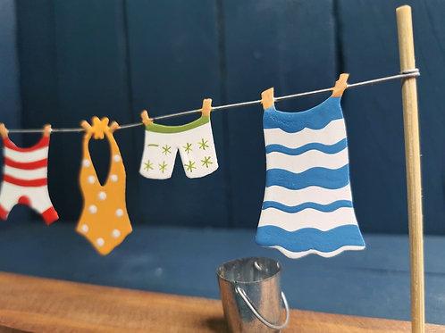 Handmade Clothes Line