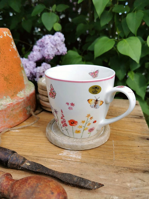 Butterfly Garden China Mug