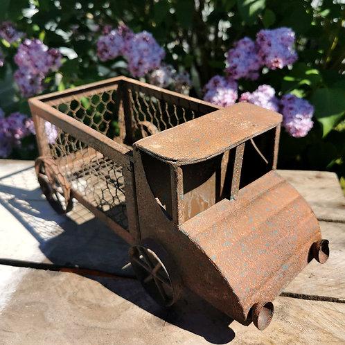 Rusty Truck Planter