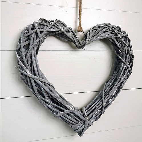 Grey Willow Hearts
