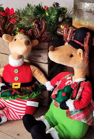 Mr & Mrs Reindeer