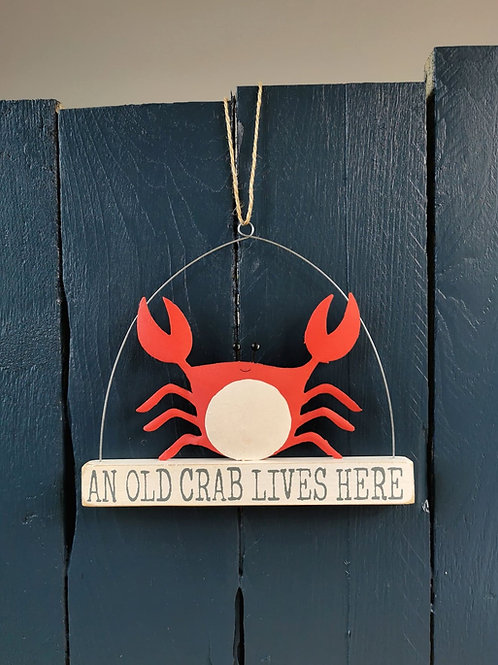 An Old Crab Lives Here