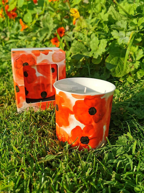 Poppy Candle