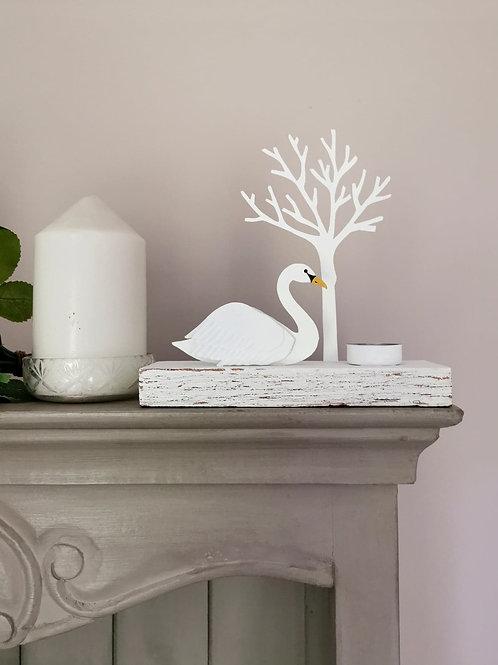 Regal Swan Votive