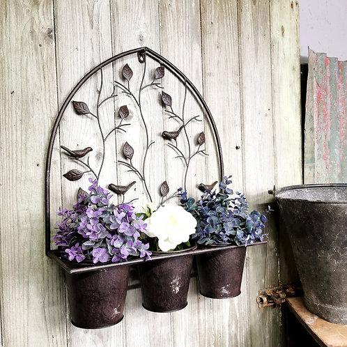 Triple Hanging Planter