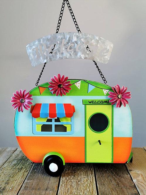 Funky Caravan Birdhouse