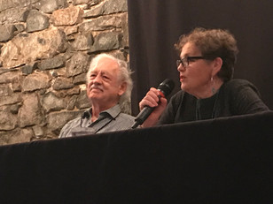 William Deverell and Iona Whishaw at EMLF 2019