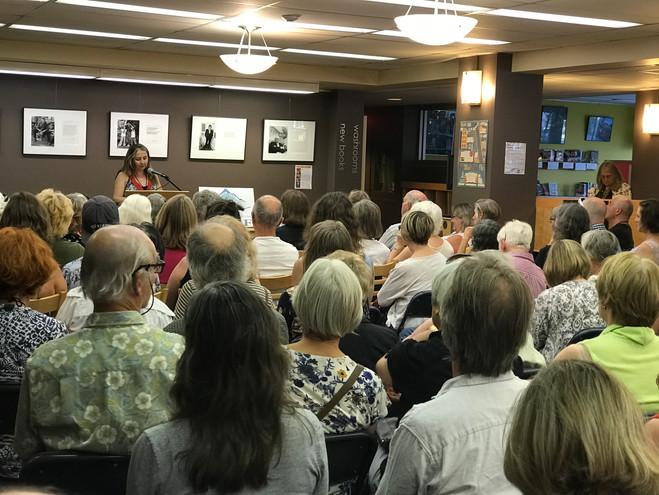 Natasha Smith introduces Susan Musgrave