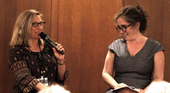 Marsha Lederman and Anna Purcell, 2018