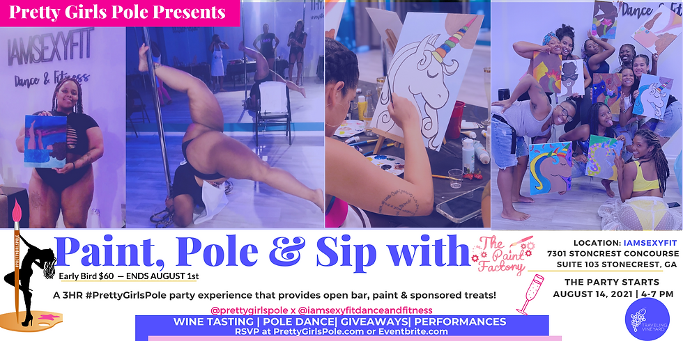 Pretty Girls Pole: Paint, Sip, and Pole