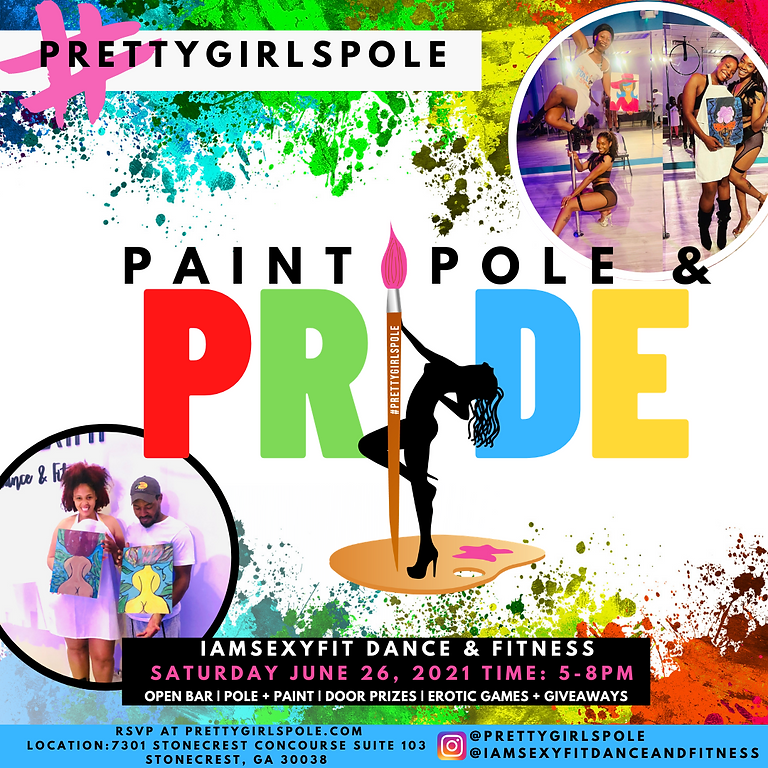 Pretty Girls Pole: Paint, Sip, and Pole Pride