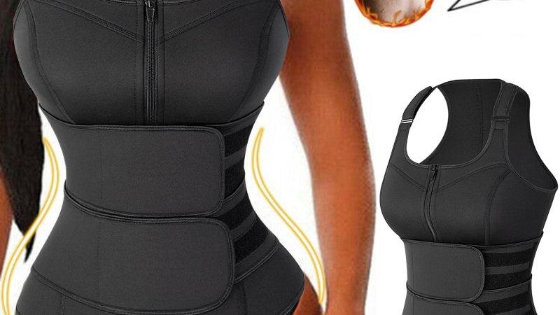 Neoprene Body Shaper, Tank Top Vest With Adjustable Shaper Slimming Shapewear
