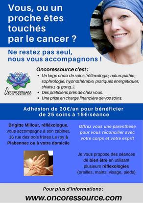 Réflexologie et oncologie