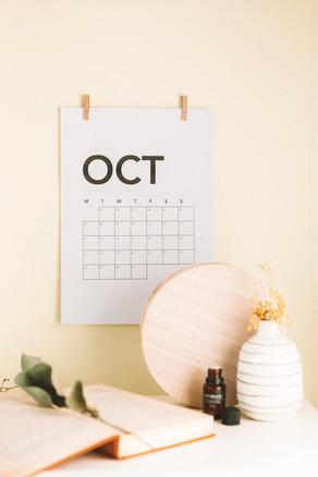 Octobre , prenez soin de vous