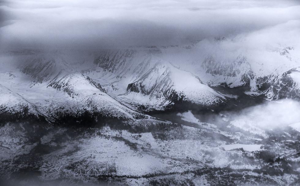 Slovakia, Tatra mountains, birds view.jp