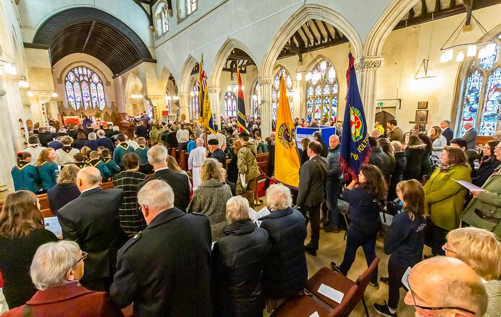 South Molton, Remembrance Sunday Novembe