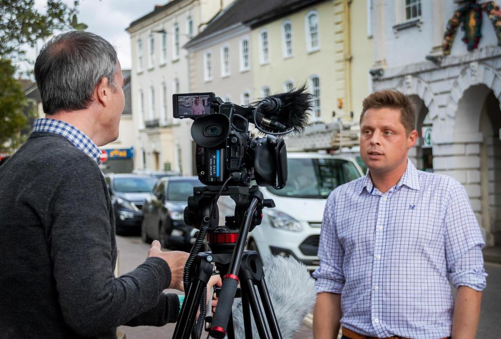 South Molton, Cllr Matt Bushell intervie