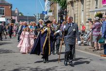 South Molton, June 2019 Old English Fair