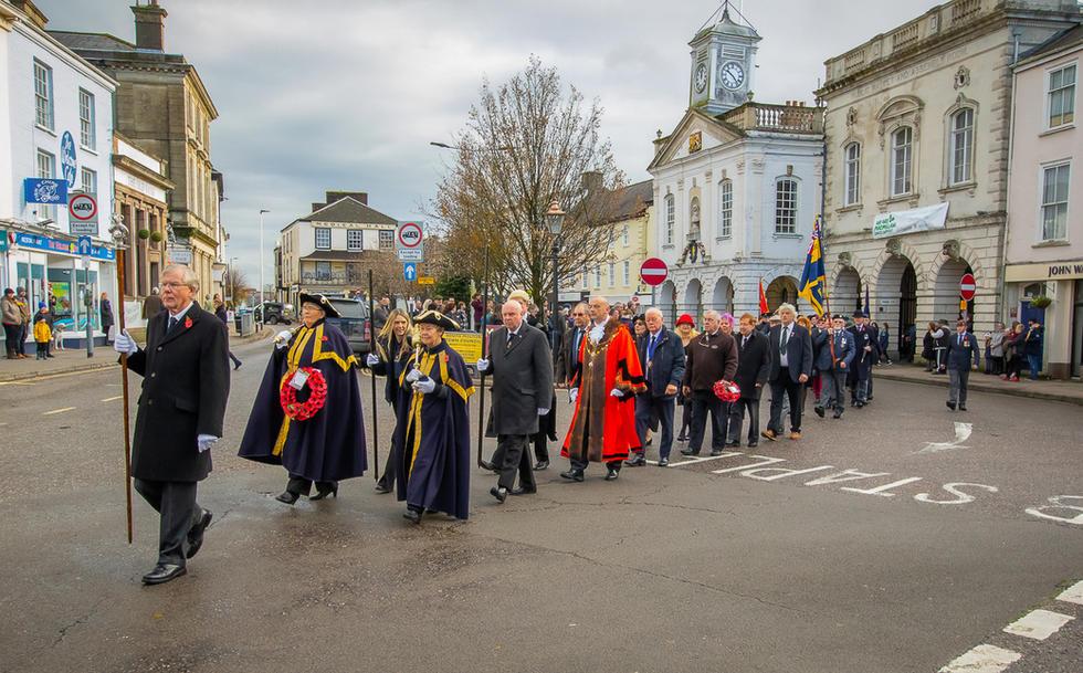 South Molton Remembrance Sunday November
