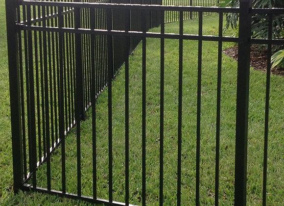 2019 high quality galvanized tubular swimming pool safety fence