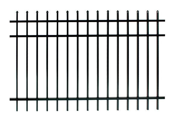 USA standard Picket Aluminum Steel Picket Fence
