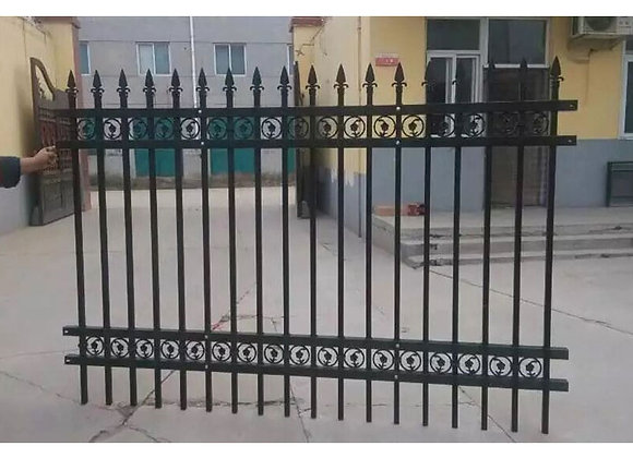 Strong Quality Decorative steel garden fencing