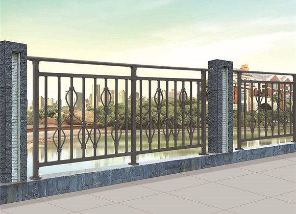 Galvanized steel column / stair railing / balcony railing / handrail