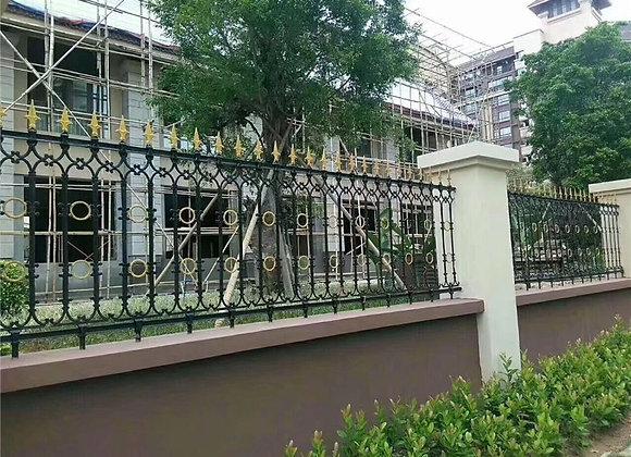 ornamental garden antique cast iron fence designs