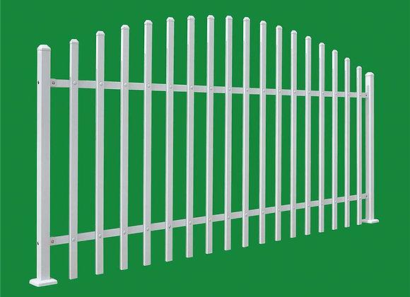 Ornamental metal fence wrought iron zinc steel fence panels