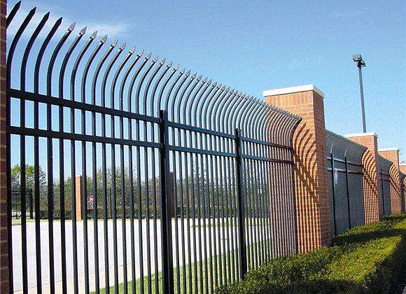 Cheap decorative sheet metal privacy fence panels