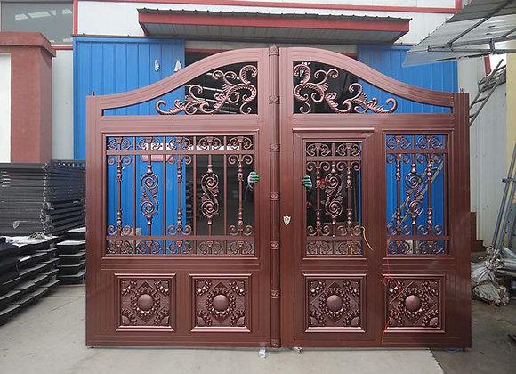 European style aluminium Villa electric garden Gates designs