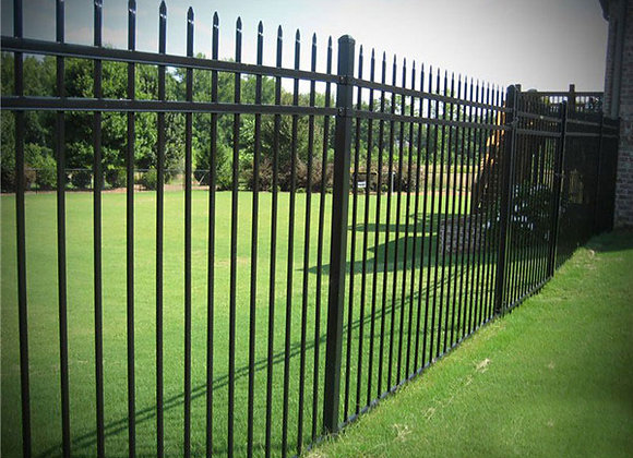Modern steel grills fence design in the philippines
