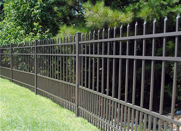 Cheap prices modular curved metal fencing panels