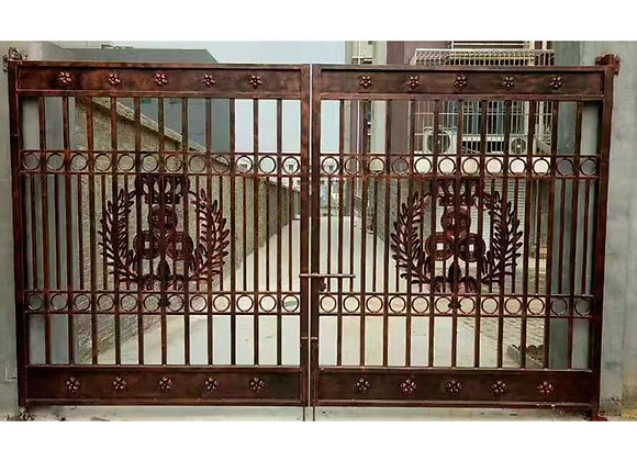 New design wrought iron gate Indian house main gate designs for Garden