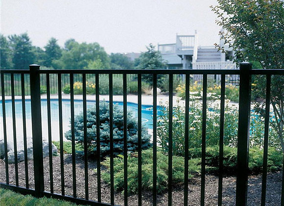 Used wrought iron fencing wholesale for sale