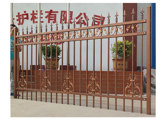 wholesale modern metal used wrought iron fencing for sale