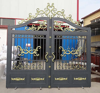 customization villa garden automatic swing driveway gate