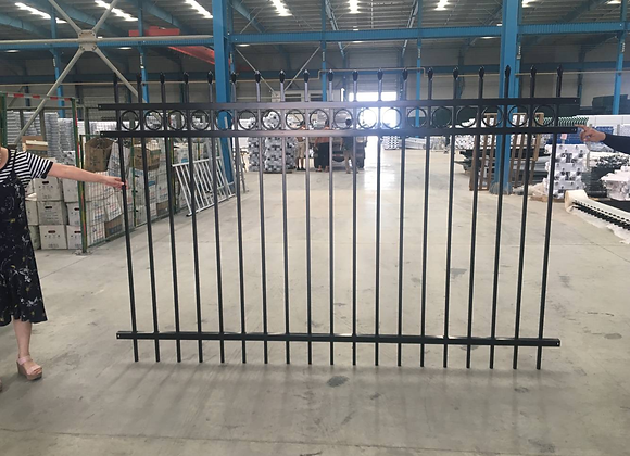 Cheap price commercial steel fence