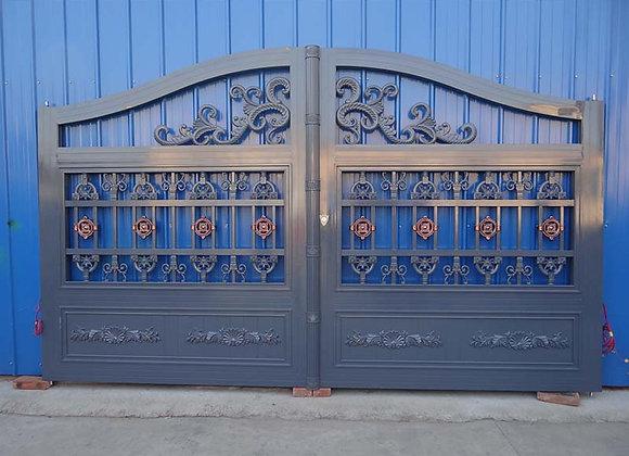 Indian house main gaecorative Steel balcony Balustrade Zinc Steel Railing的副本