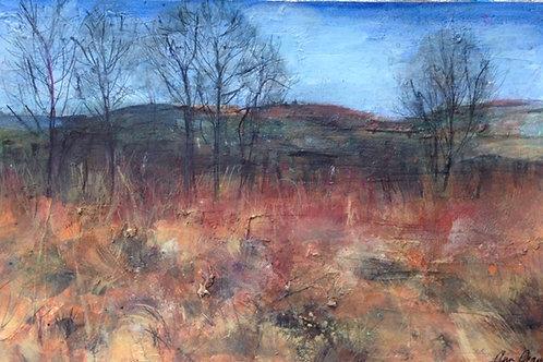 Ann Oram RSW, Allanton Landscape