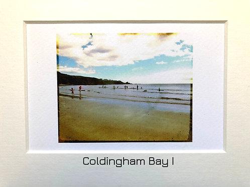 Justine Miller, Coldingham Bay series, 20.5cm x 15.5cm, digital print